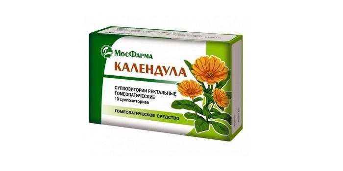 Гомеопатические с календулой