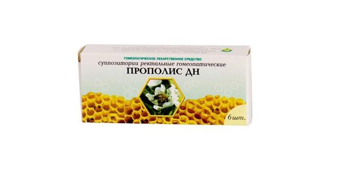 Гомеопатические с прополисом