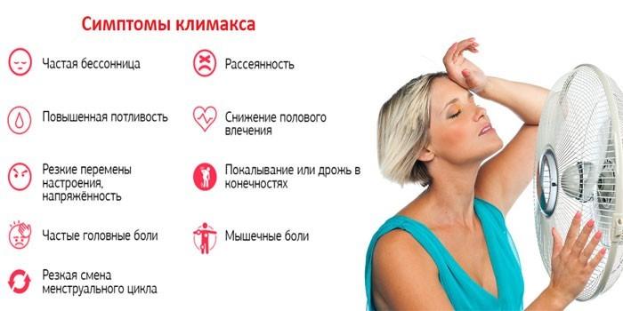 Симптомы наступления менопаузы