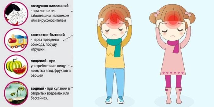Пути передачи заболевания