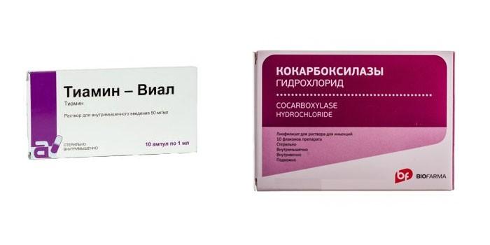 Витамин B1 в ампулах