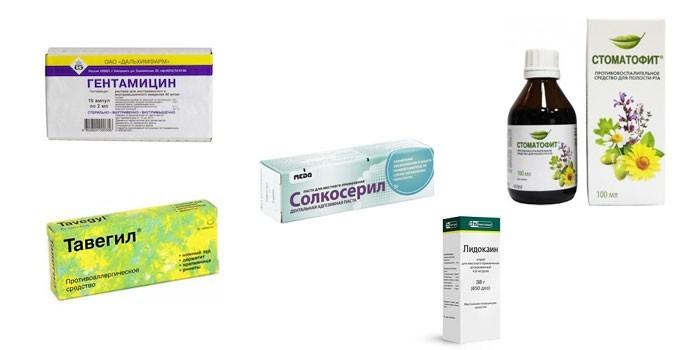 Препараты для лечения свища