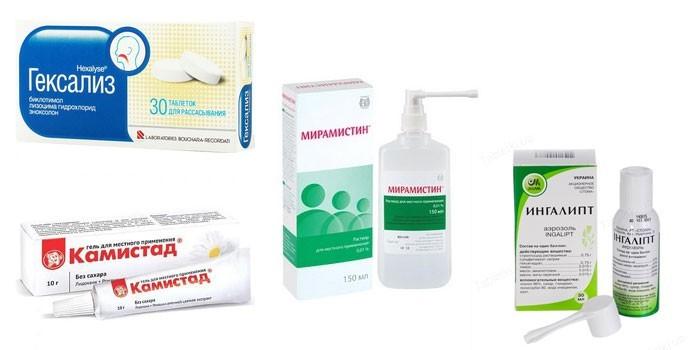 Препараты для лечения язв