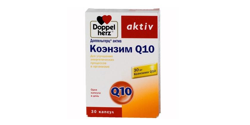 Препарат Коэнзим Q10