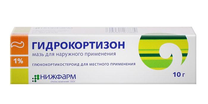 Мазь Гидрокортизон в упаковке