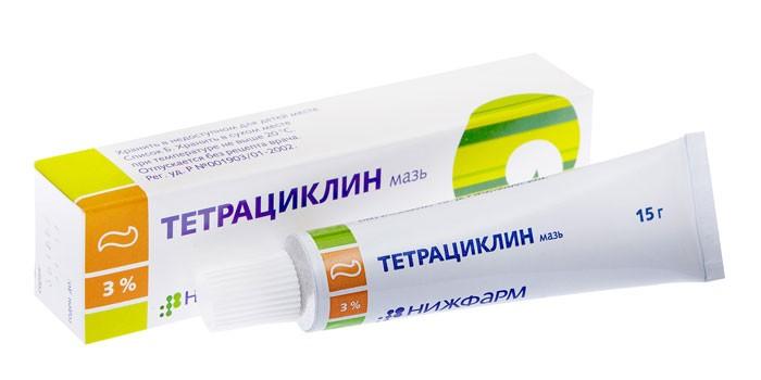 Крем Тетрациклин