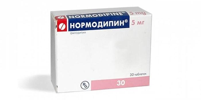 Таблетки Нормодипин