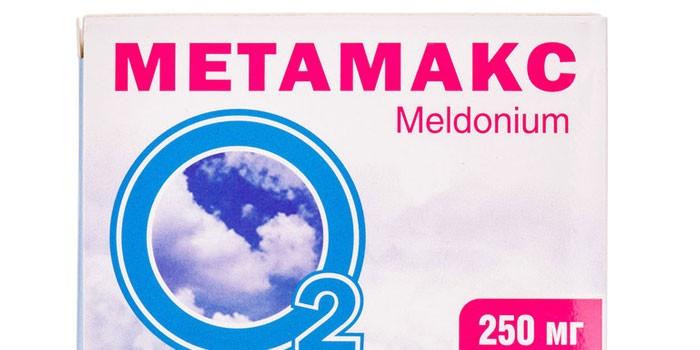 Препарат Метамакс в упаковке