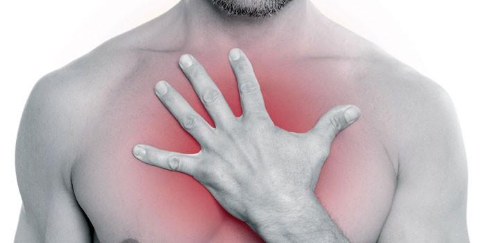 Дискомфорт в грудной клетке головокружение