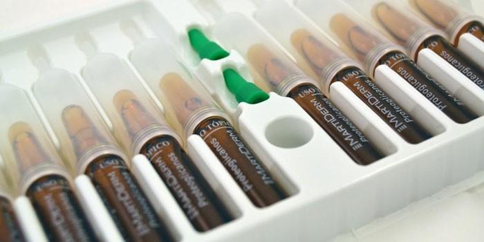 Ампулы с препаратом Октолипен