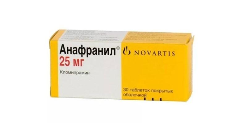 Таблетки Анафранил