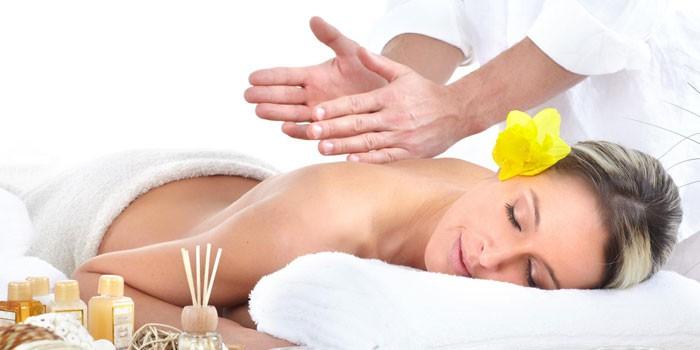 Сеанс массажа