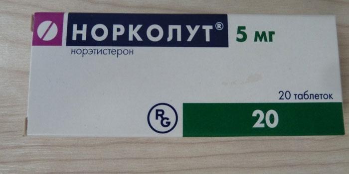 Таблетки Норколут