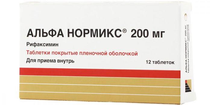 Препарат Альфа-Нормикс