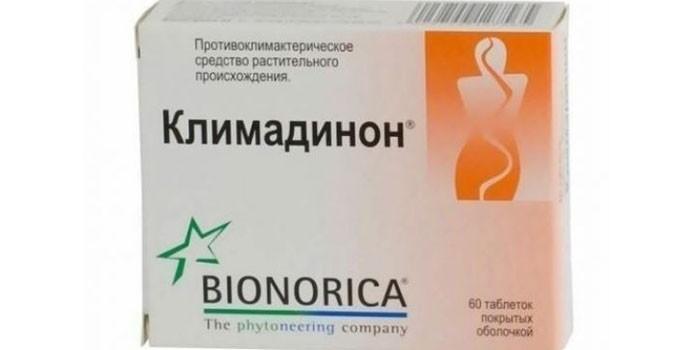 Таблетки Климадинон