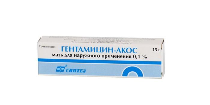 Мазь Гентамицин Акос