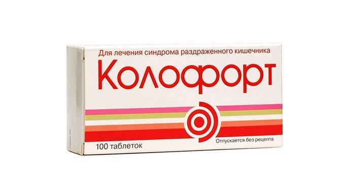 Таблетки Колофорт в упаковке