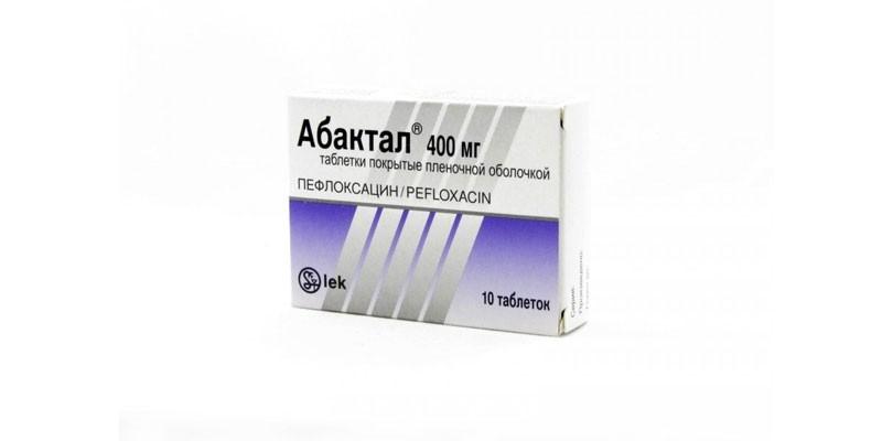 Таблетки Абактал