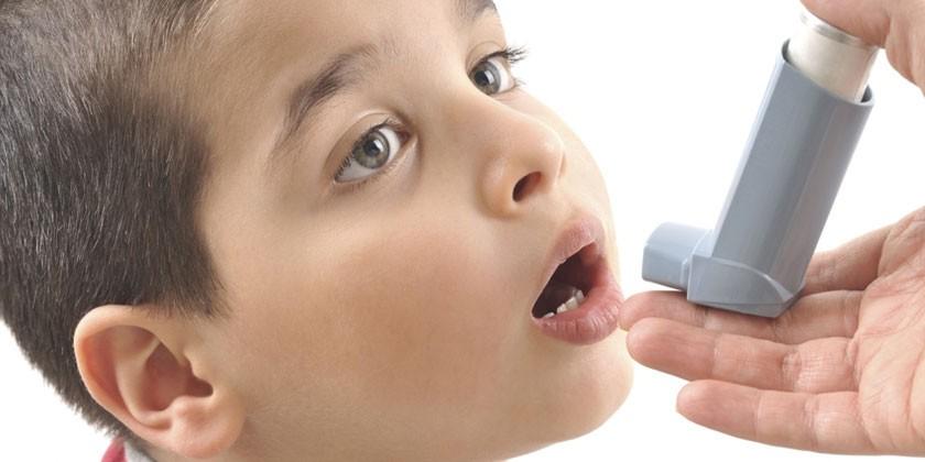 У мальчика бронхиальная астма