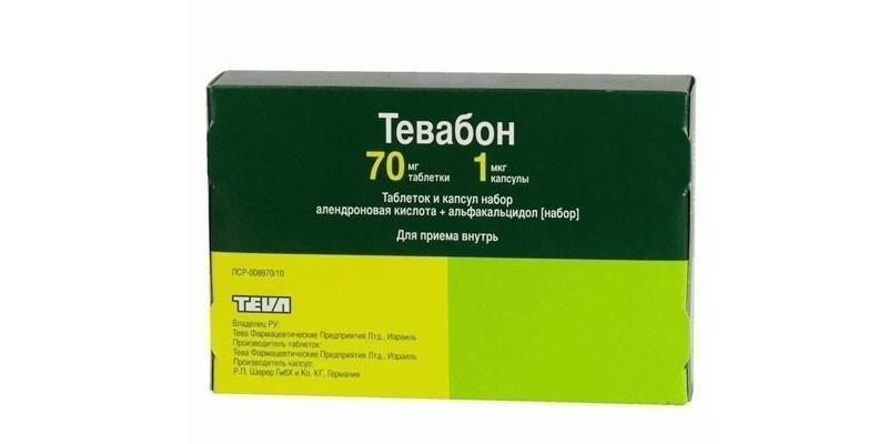 Таблетки Тевабон