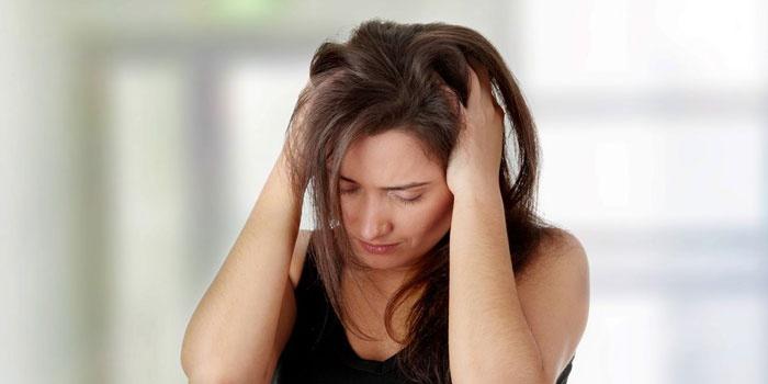 Ощущение жара в голове у женщины