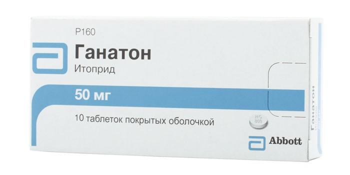 Средство для лечения желудочно-кишечного тракта ганатон | отзывы.