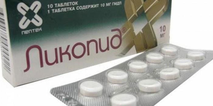 Препарат Ликопид в упаковке