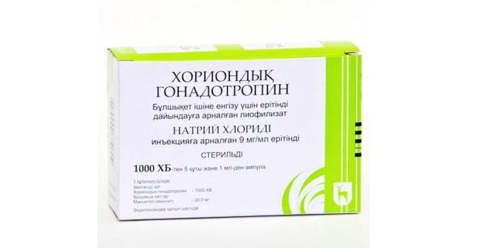Препарат Гонадотропин хорионический