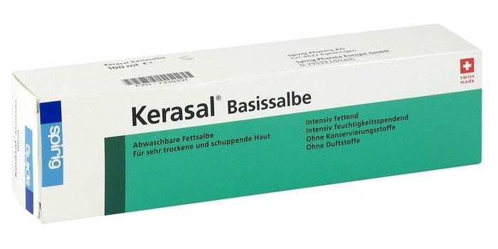 Мазь Керасал в упаковке