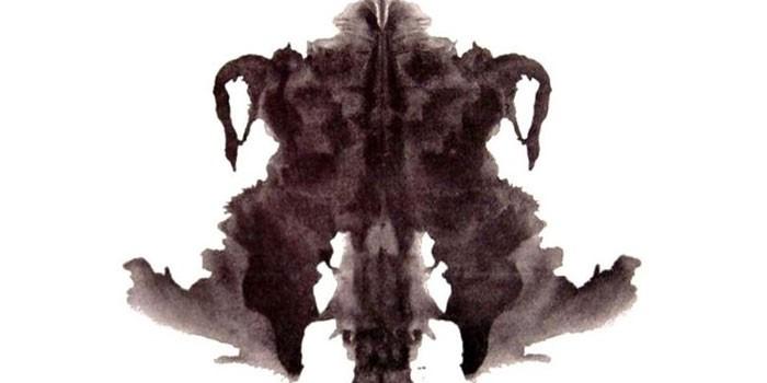 Карточка теста Роршаха