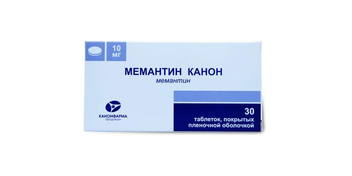 Таблетки Мемантин канон