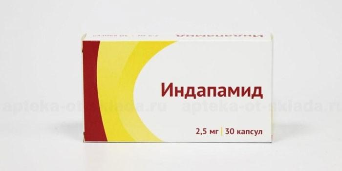 Таблетки Индапамид