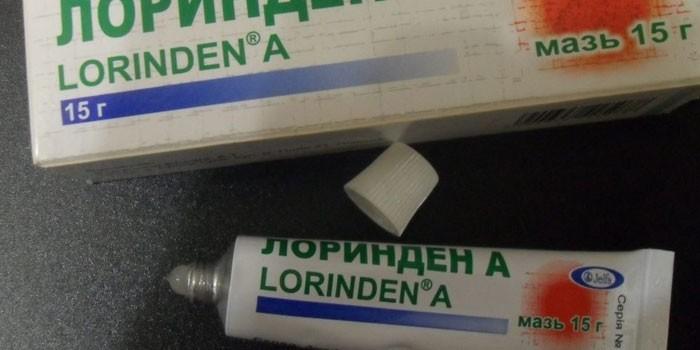 Мазь Лоринден А