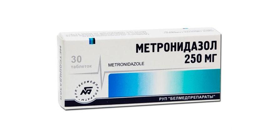 Таблетки метронидазол как принимать