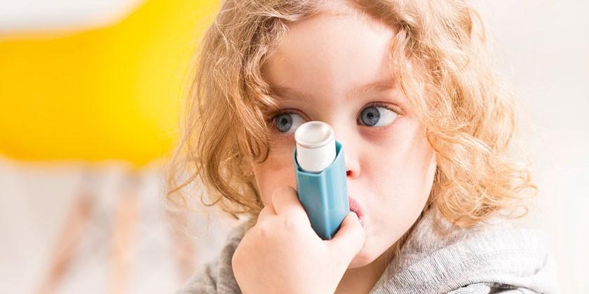У девочки бронхиальная астма