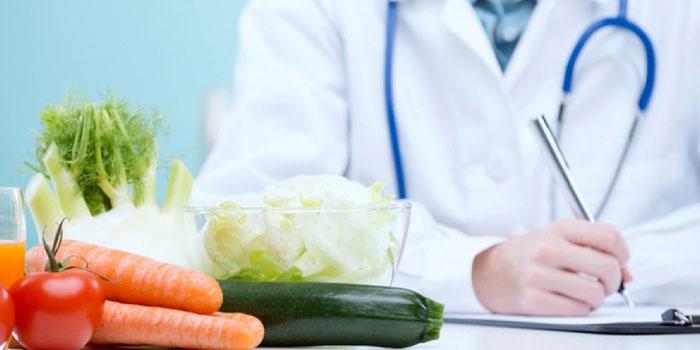 Овощное меню предлагает врач