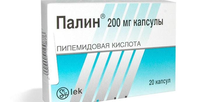 Таблетки Палин в упаковке