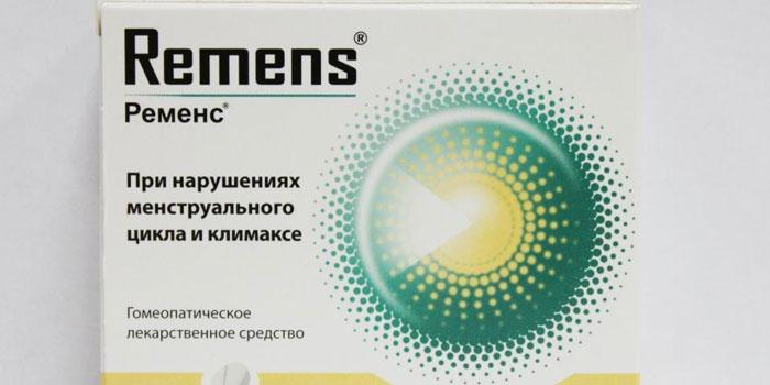 Таблетки Ременс при климаксе