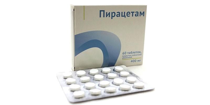 Таблетки Пирацетам