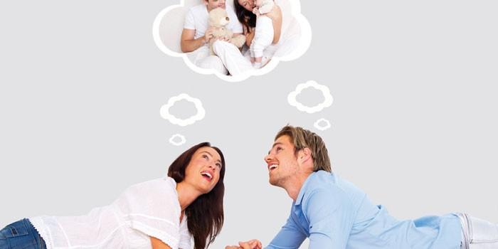 Семейная пара мечтает о ребенке