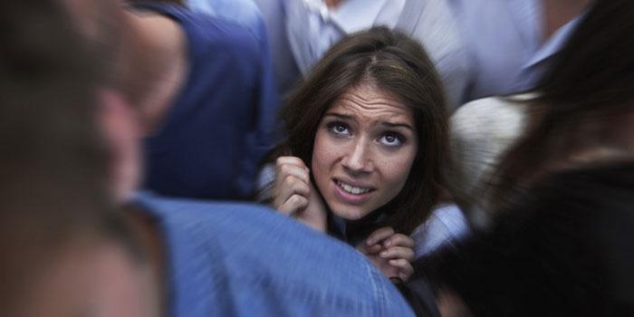 У девушки паническая атака