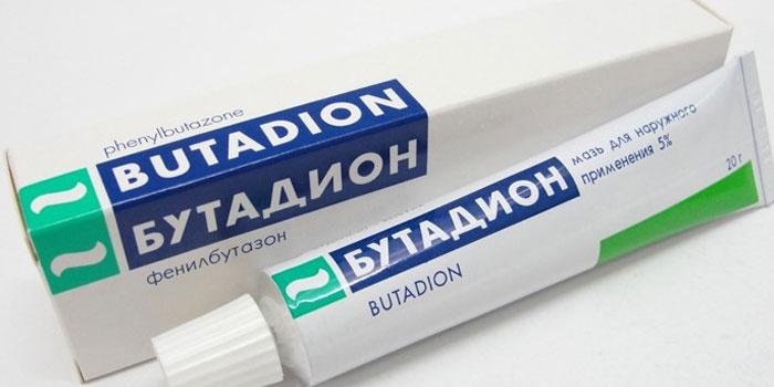 Мазь Бутадион