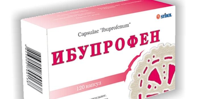 Ибупрофен в капсулах