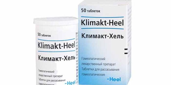 """Гомеопатические таблетки """"Климакт-Хель"""""""