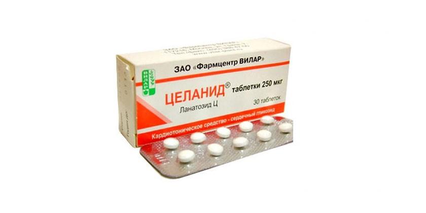 Таблетки Целанид