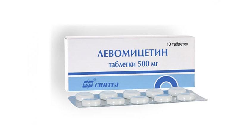 Таблетки Левомицетин
