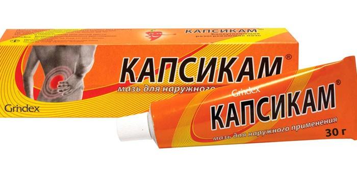 Мазь Капсикам