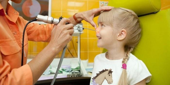 Лазерная редукция аденоидов у детей