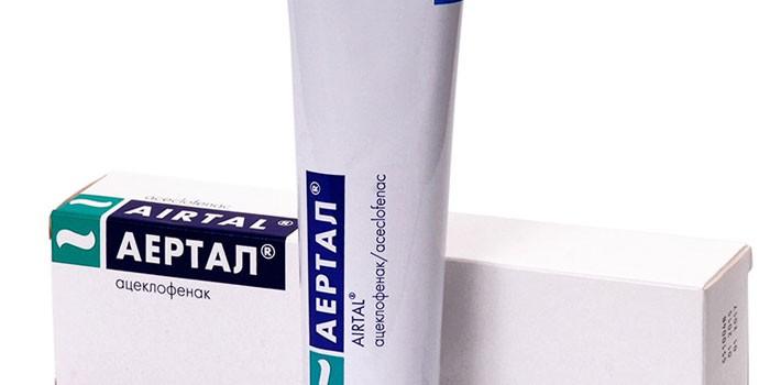 Аэртал или атеклофинак средство для лечения суставов лечение сеновита плечевого сустава
