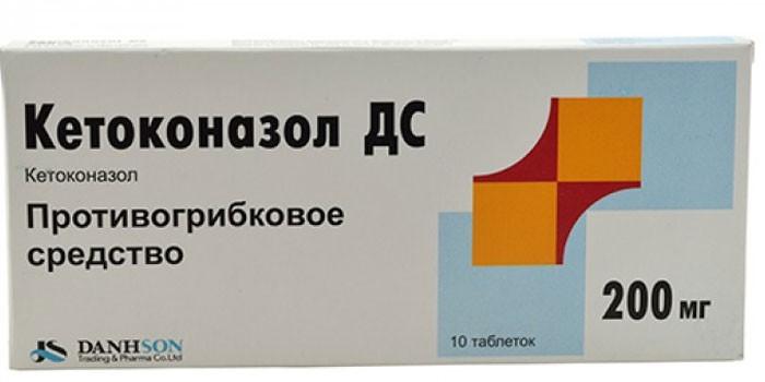 Таблетки Кетоконазол в упаковке
